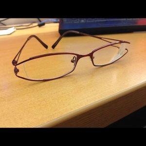 Metallic eyeglasses/frames